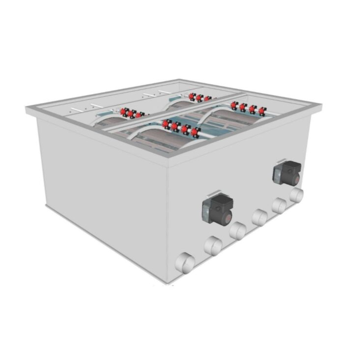 Brabant Koi filtersystemen - Drum Filter 100200 XL filter 2