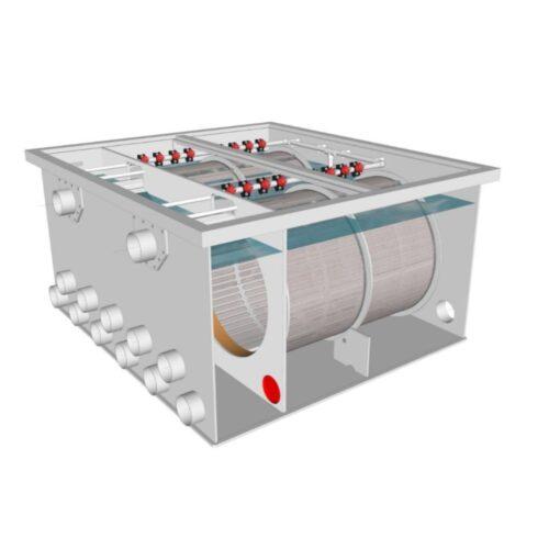 Brabant Koi filtersystemen - Drum Filter 100200 XL filter