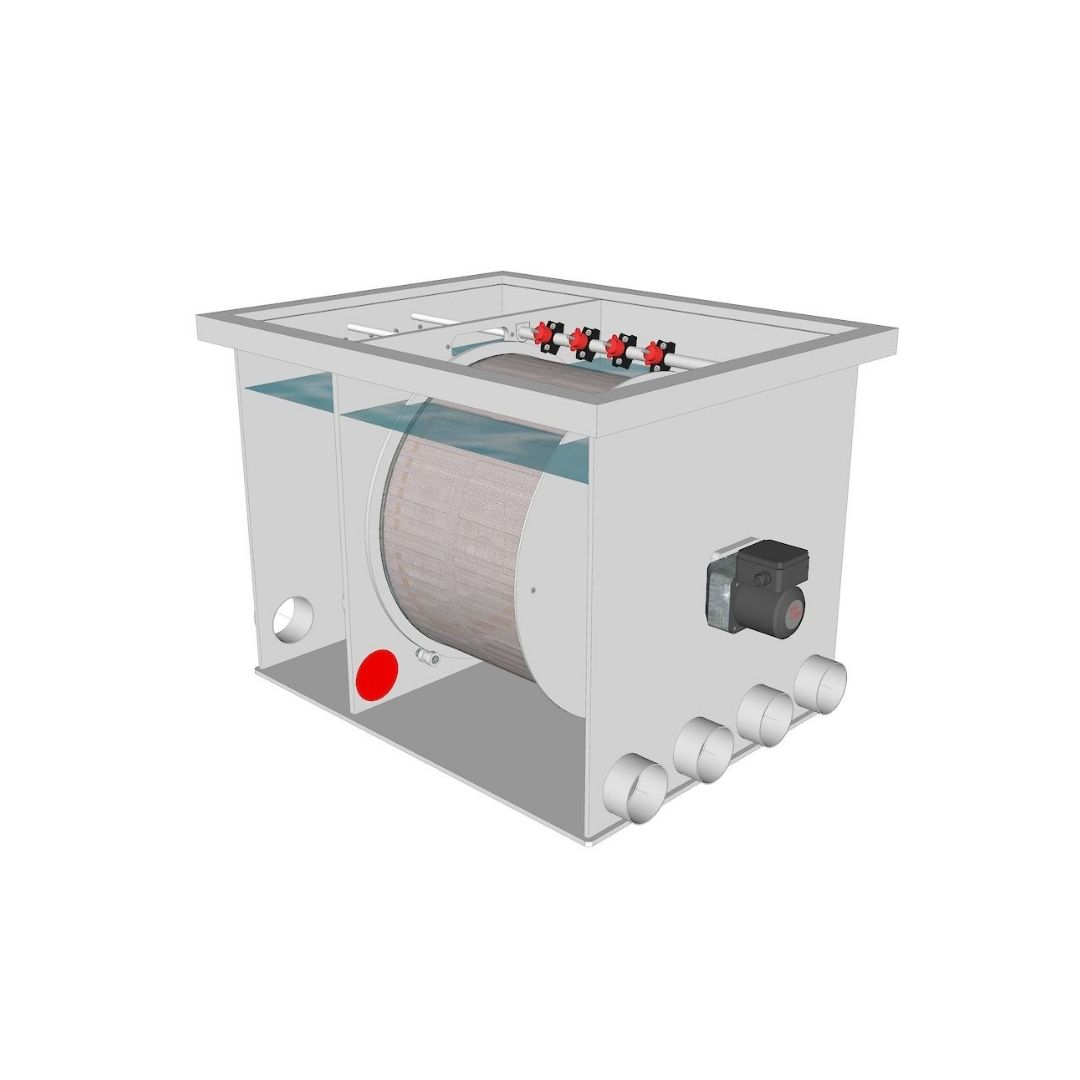 Brabant Koi filtersystemen - Drum Filter 50-55 XL filter1