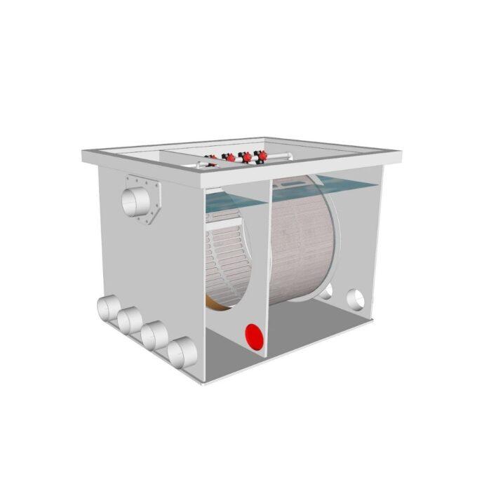 Brabant Koi filtersystemen - Drum Filter 50-55 XL filter2