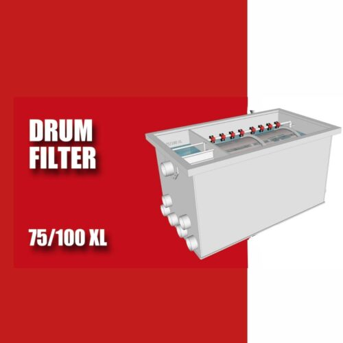 Brabant Koi filtersystemen - Drum Filter 75100 XL specificaties voor
