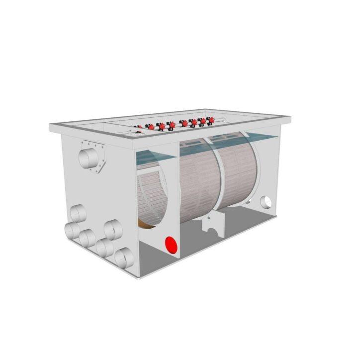 Brabant Koi filtersystemen - Drum Filter 75100 XL specificaties voor filter