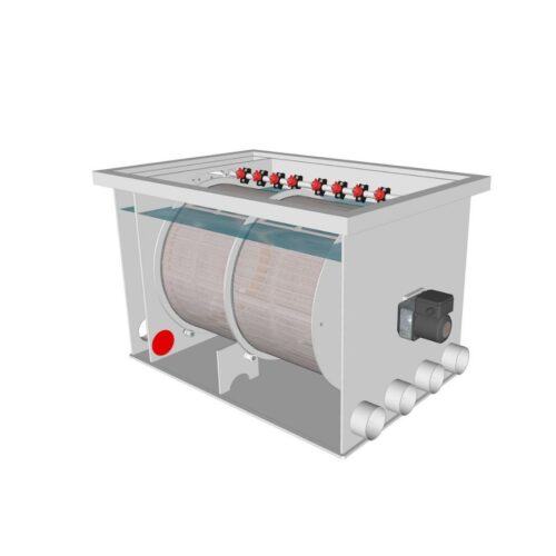 Brabant Koi filtersystemen - Drum Filter 75100 XL specificaties voor filter2