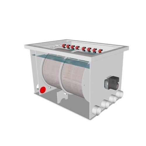 Brabant Koi filtersystemen - Drum Filter 75100 XL specificaties voor filter2