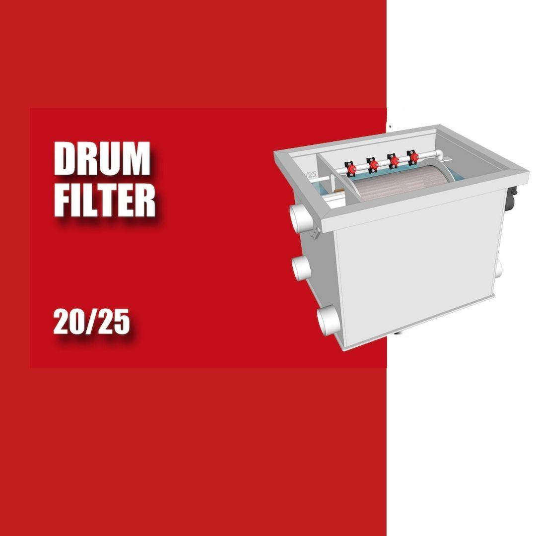 Brabant Koi filtersystemen - Drumfilter 20-25