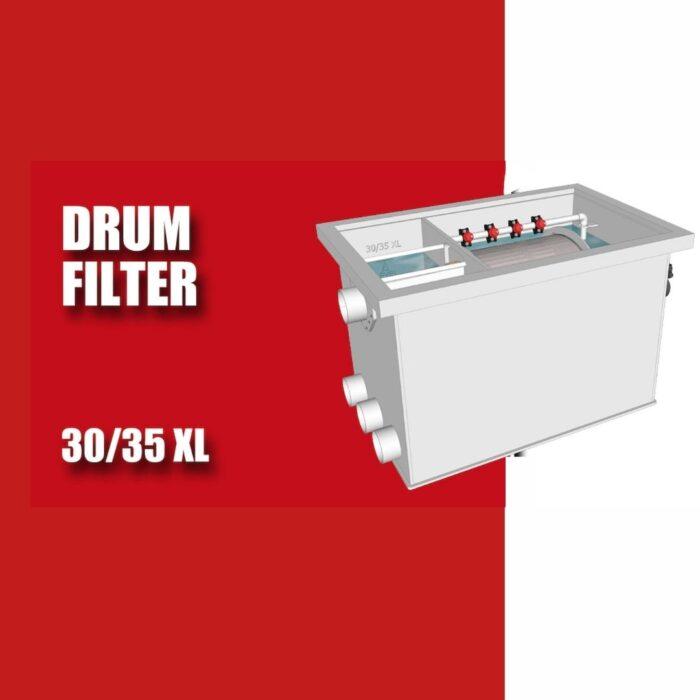 Brabant Koi filtersystemen - Drumfilter 3035 XL