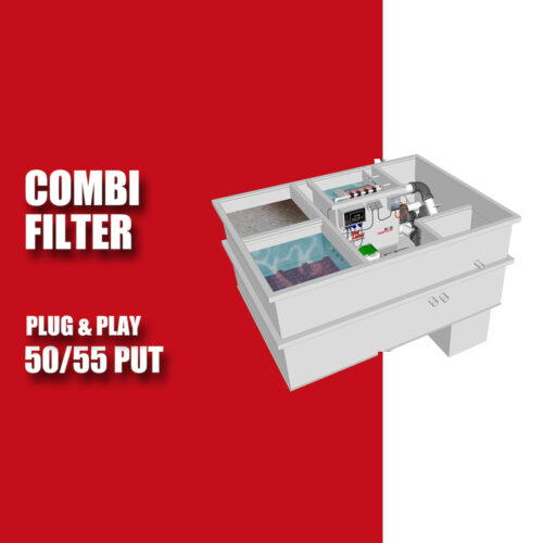 Brabant Koi filtersystemen - Redlabel Drumfilter plug&play 50-55 PUT