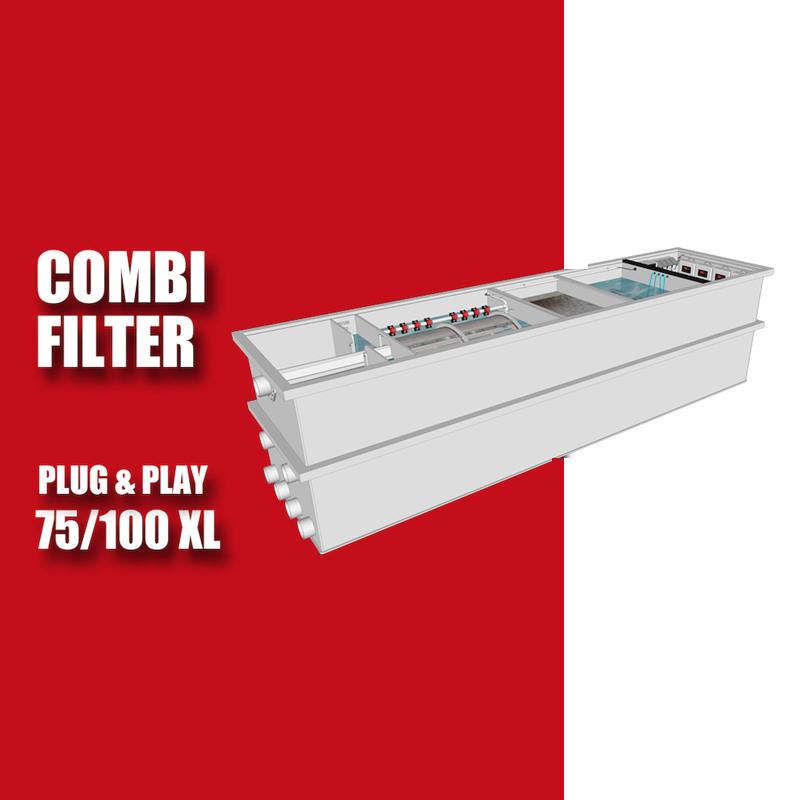 Brabant Koi filtersystemen - Redlabel Drumfilter plug&play 75-100 XL