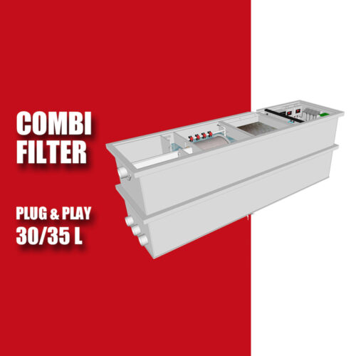 Brabant Koi filtersystemen - banner Redlabel Drumfilter plug&play 30-50 L