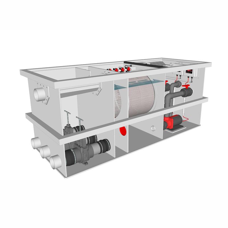 Brabant Koi filtersystemen - banner Redlabel Drumfilter plug&play 30-50 M 1