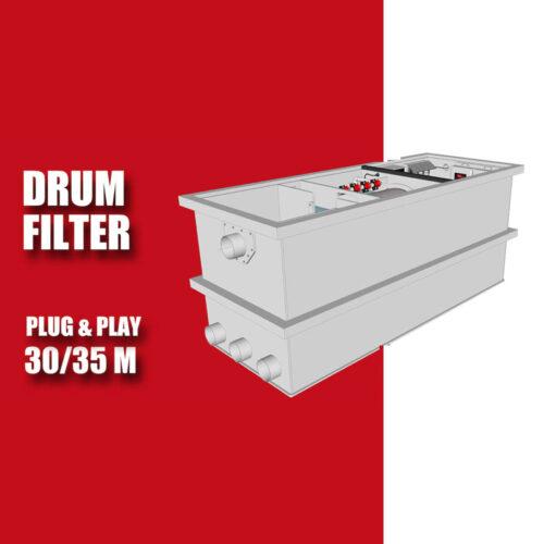 Redlabel Drumfilter plug&play 30-50 M