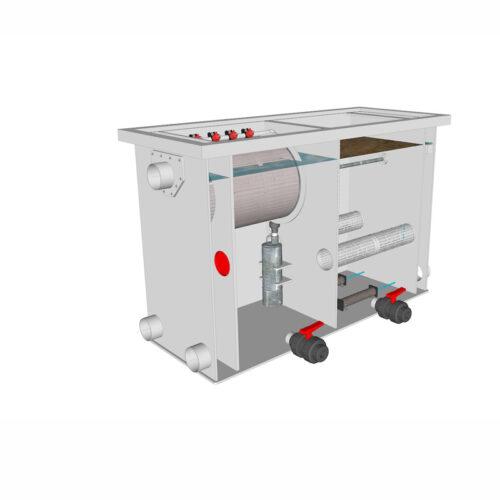 Van Rooij - Brabant Koi filtersystemen - banner Redlabel Hoofd Combifilter 1 20-25