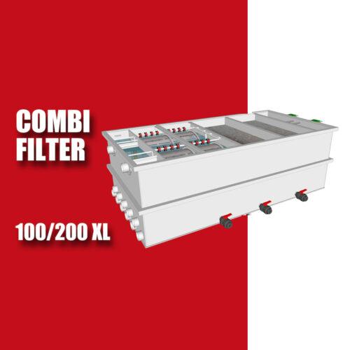 Combifilter voor 100-200 XL