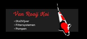 Logo van Rooij Koi Vijvers