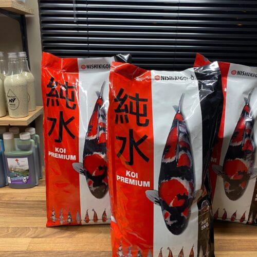 Brabant Koi - Van Rooij - Visvoer van Nishikigoi koivoer - koi premium